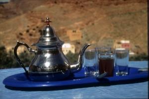 Thé à la menthe - das Nationalgetränk in Marokko