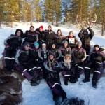 Alleinreisende und Taste of Lappland
