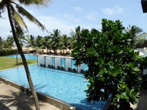 Sri Lanka Rundreise Hotel Negombo Blue