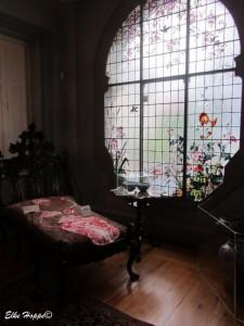 Bleiglasfenster im Jugendstil
