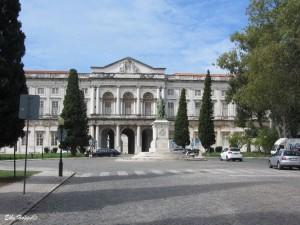 der heutige Palast von Ajuda