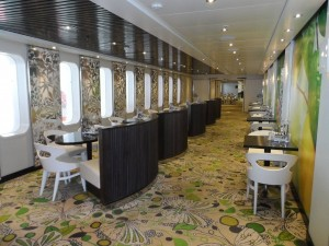 Das Buffetrestaurant Giardino auf der Costa neoRomantica