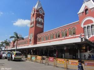 Central Station, der Bahnhof von Chennai
