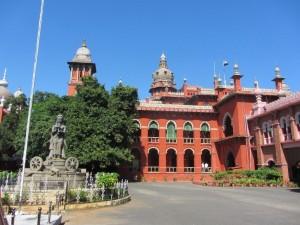 Das Gerichtsgebäude von Madras