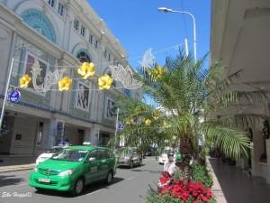 zurück in der Stadt Saigon