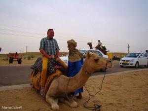 Kamelritt in der Thar-Wüste