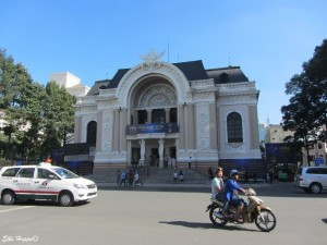 das Stadttheater von Saigon