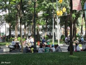auf den Strassen von Ho Chi Minh City