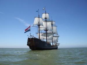 Das Profil des Segelschiffs Soeverein