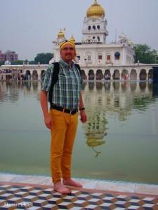 der sikh Tempel Gurdwara Bangla Sahib