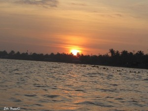 Sonnenaufgang bei Can Tho