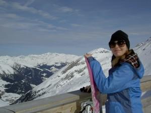 Aussicht Hintertuxer Gletscher