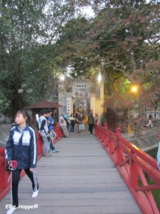 Brücke zur Jadeberg-Insel
