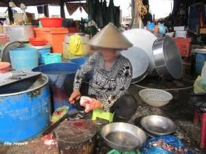 Marktfrau in My Tho