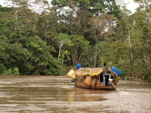 Begegnung mit Einheimischen im Regenwald von Brasilien