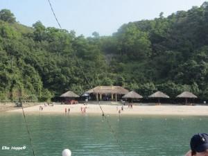Cat Co Strand in der Halong Bucht