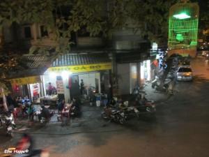 die Altstadt von Hanoi