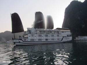 unser Schiff, die Paloma Cruise