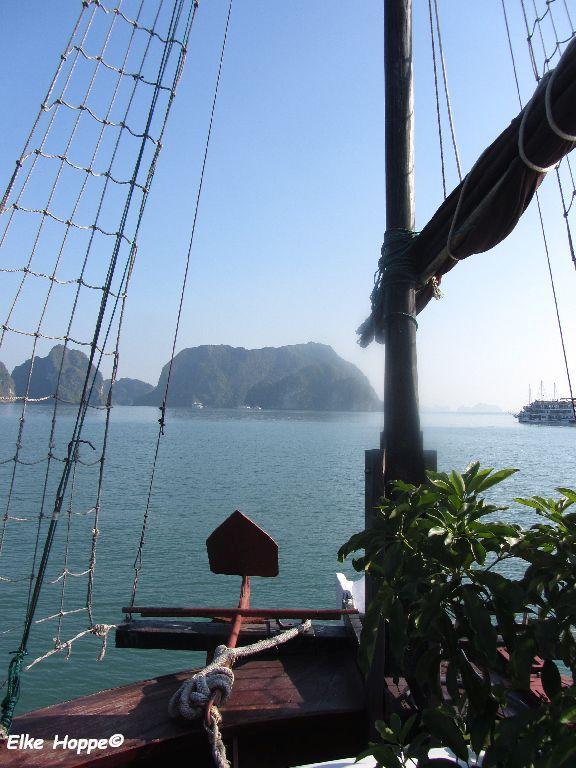 Halong Bucht, eine Landschaft als UNESCO Welterbe