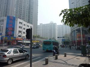 Landgang - Besichtigung der Stadt Chiwan