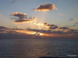 Der Klassiker: das Panorama auf Frachtschiff Reisen