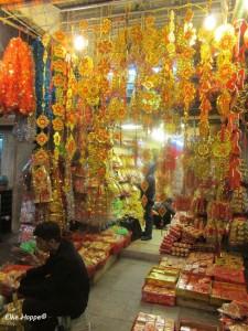die chinesischen Farben für Reichtum, Glück und Harmonie
