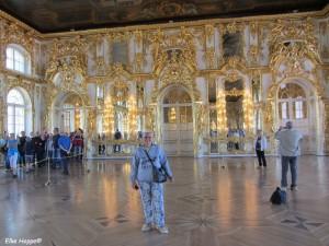 der Grosse Saal mit vergoldetem Dekor