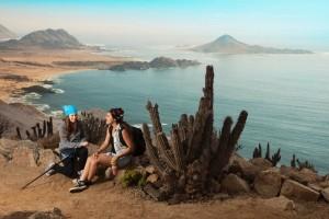 Ausblick auf die Pan de Azucar Insel