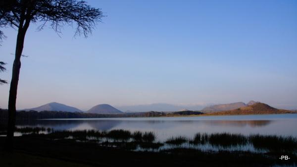 Früh morgens am Lake Elementaita