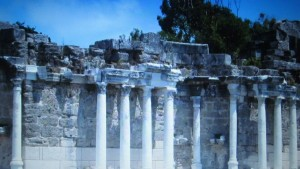 antike Orte in der Nähe von Side
