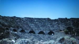 Side - Ruinen des alten Theaters
