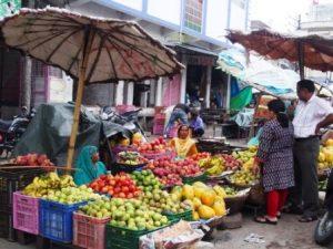 Gemüsemarkt in Udaipur