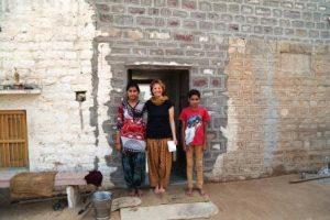 Bei einer rajasthanischen Familie zuhause