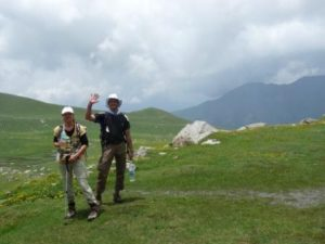 Trekking in Indien