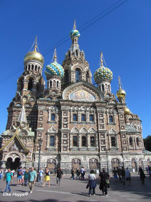 Christi Auferstehungs Kirche in St. Petersburg