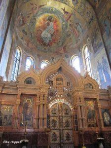 heute ist die Kirche ein Mosaik Museum