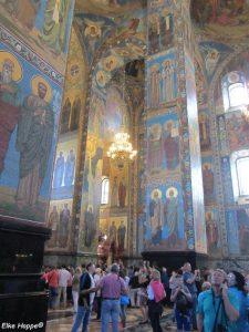 Prachtvolle Mosaiken in der Christi Auferstehungskirche