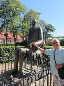 Statue von Peter I