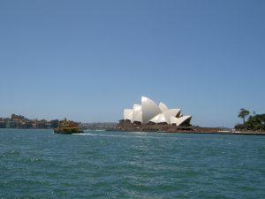 Sydney Reise mit dem Frachtschiff