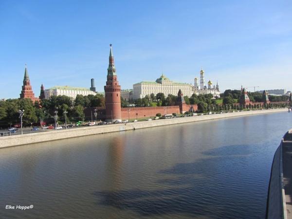 Moskau, die Hauptstadt Russlands und der Kreml