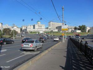 Moskauer Strassenverkehr