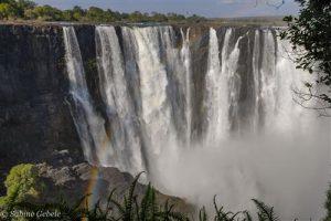Die Main Falls an den Victoria Falls