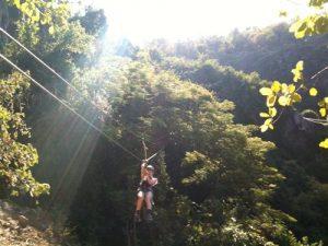 Die Victoria Falls Canopy Tour besteht aus 9 Ziplines