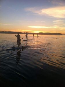 SUP-tour in Tofino