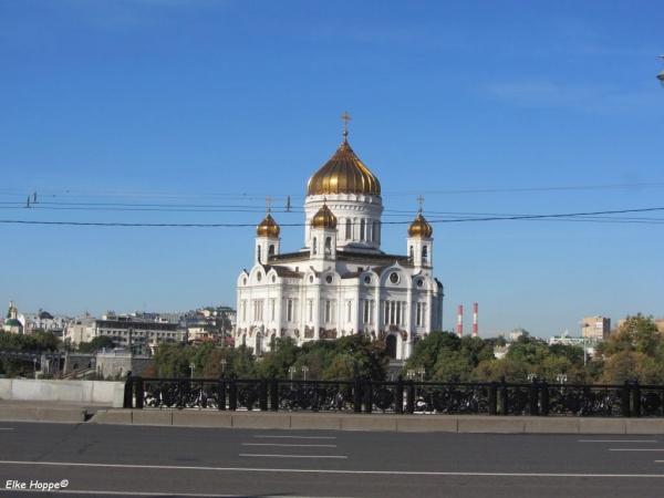 Der Kreml in Moskau- einst und heute ein Zentrum der Macht