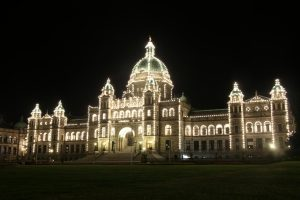 Regierungsgebäude in Victoria