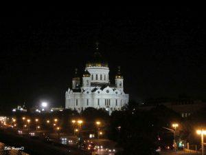 die Kathedrale bei Nacht