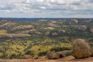 Die eindrucksvolle Landschaft der Matobo Hills