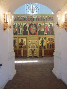 Blick in das Museum von Kolomenskoje