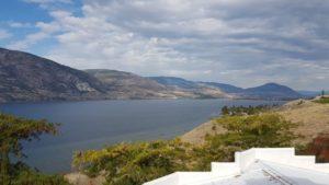 Blick auf Okanagan Lake
